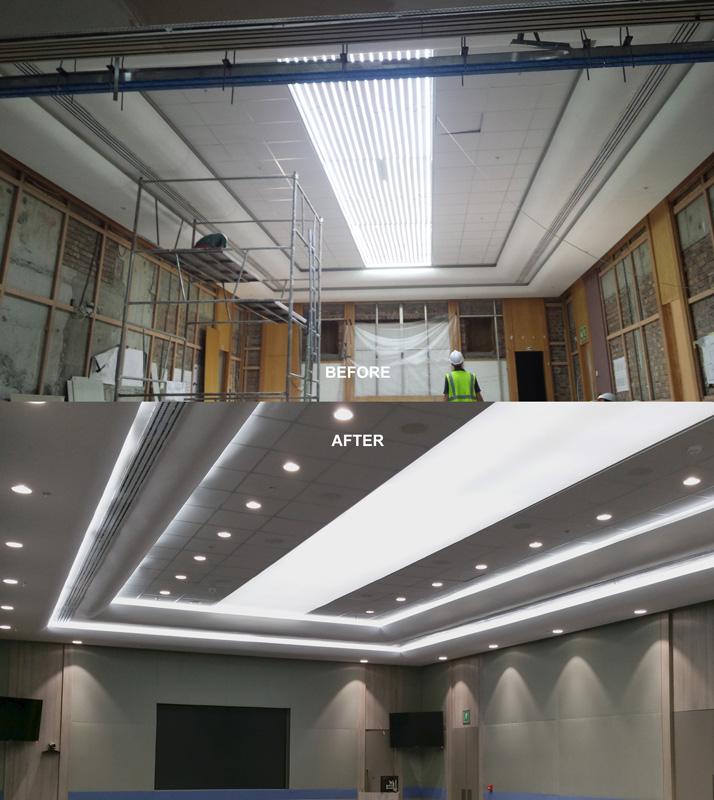 Engen ceiling