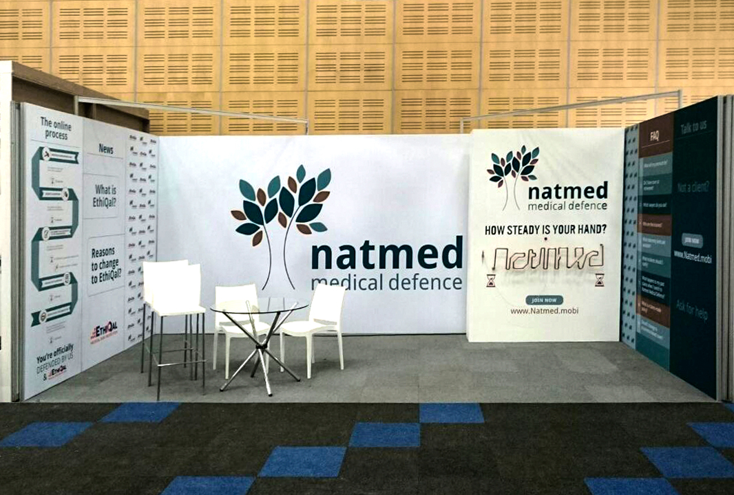 Natmed Expo-stand