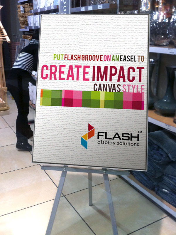 Flash Canvas Style Display