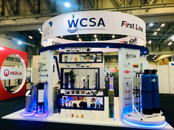 WCSA Curve Expo-stand bulkhead