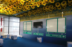 Up-side-down room