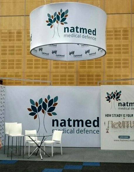 FlashMedium Circle Natmed stand