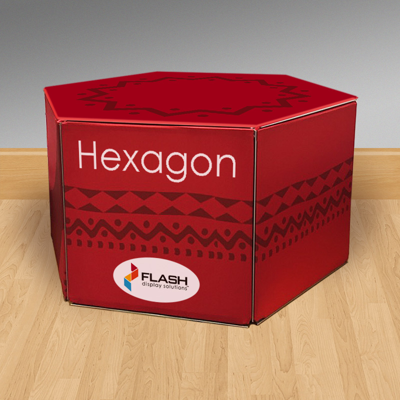 NEW! Flash hexagon