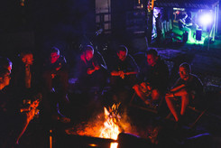 Music, fire, beer, what else? :-)