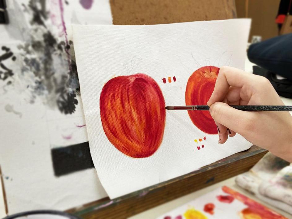 Pintura a Óleo - Maçã.jpg