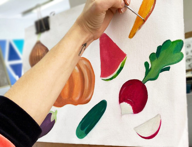 Pintura à Óleo - Legumes.jpg
