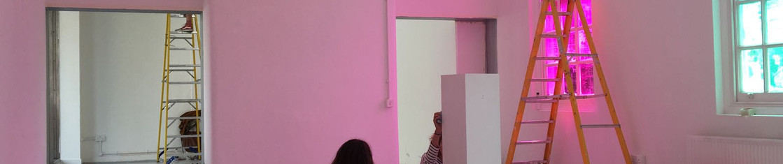 Installation for Osías Yanov's Orphan Dance (2018)
