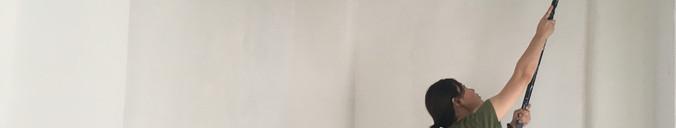 Repainting gallery walls