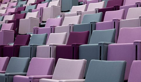 Bute Fabrics_Auditoria Project_International Convention Centre Wales_Interior Seating