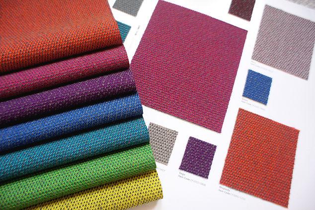 Bute Fabrics_Mercury Fabric Launch Samples and Shade Card