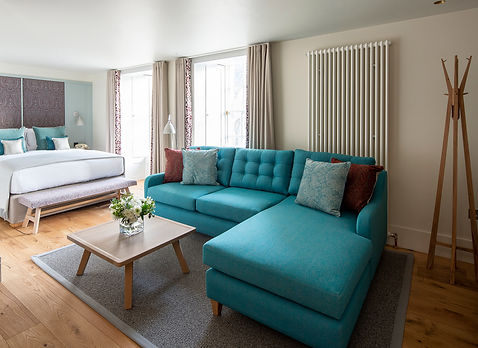 Bute Fabrics_Hospitality Project_Abbey Strand Apartments_Interior Reception Area