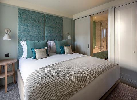 Bute Fabrics_Hospitality Project_Abbey Strand Apartments_Interior Room
