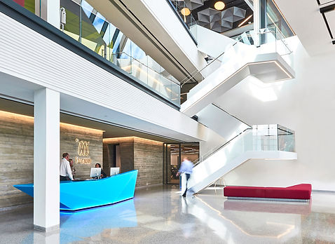 Bute Fabrics_Workplace Project_IM Group Headquarters Solihull_Interior Reception