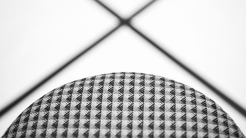 Bute Fabrics_Residential Project_Deadgood Collaboration_Woody Stool Knurled
