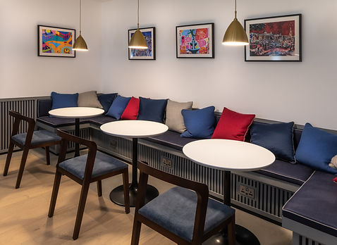 Bute Fabrics_ Hospitality Project_The Resident Covent Garden_Lounge Seating