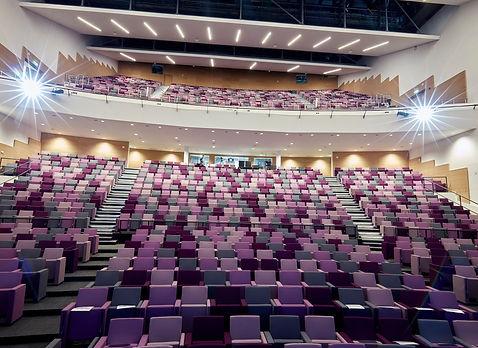 Bute Fabrics_Auditoria Project_International Convention Centre Wales_Auditorium