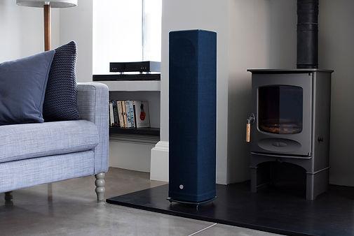 Bute Fabrics_Hospitality Project_Series 5 520 Speakers Linn