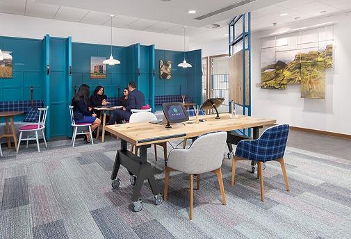 Bute Fabrics_Hospitality Project_Bank of Scotland Glasgow