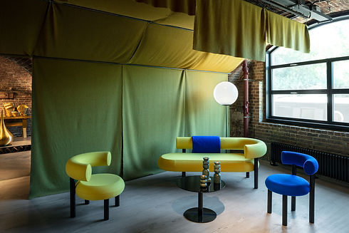 Bute Fabrics_Tom Dixon Collaboration_London Design Festival_Sept 2019_Image Credit Tom Dixon