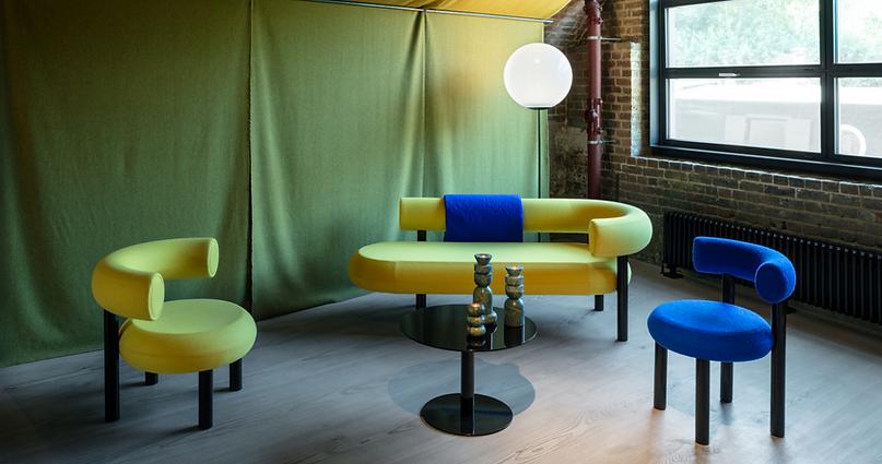 Bute Fabrics_Tom Dixon Collaboration_London Design Festival_Sept 2019_Image Credit Tom Dixon Studio