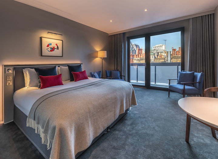 Bute Fabrics_Hospitality Project_The Resident Covent Garden - Junior Suite