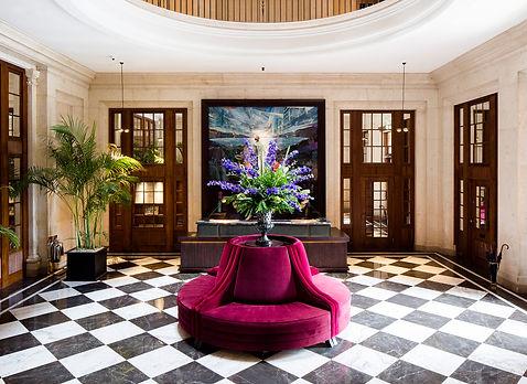 Bute Fabrics_Hospitality Project_The Edinburgh Grand_Reception Interior