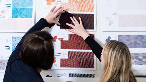 Bute Fabrics_Design Team at Work