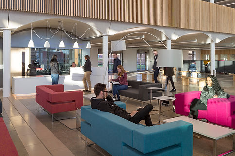 Bute Fabrics_Hospitality Project_The Pavilion Nottingham Trent University_Interior Seating