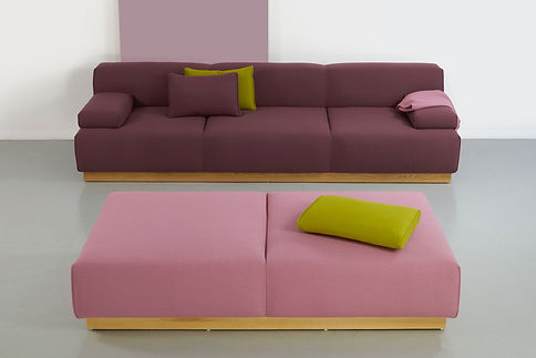 Bute Fabrics_Hospitality Project_Hitch Mylius Collaboration_HM108S and HM108Y Scatter Cushions