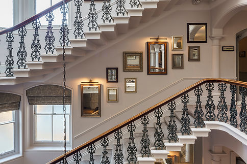 Bute Fabrics_Hospitality Project_The Principal York_Staircase_Photography by Gareth Gardner