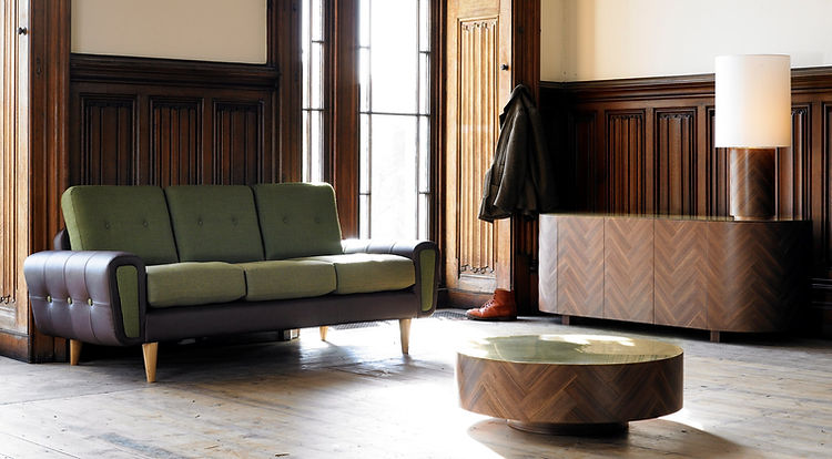 Bute Fabrics_Troon in Fir on the Deadgood Harvey Sofa