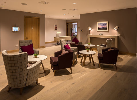 Bute Fabrics_Residential Project_The Prince and Princess of Wales Hospice, Glasgow_Interior Seating
