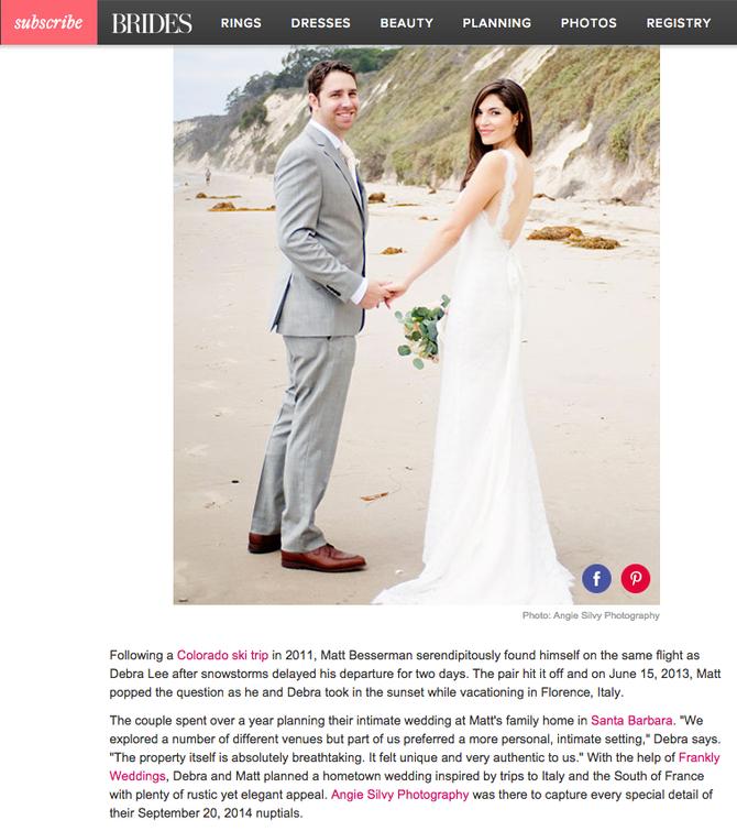 Feature: Brides!