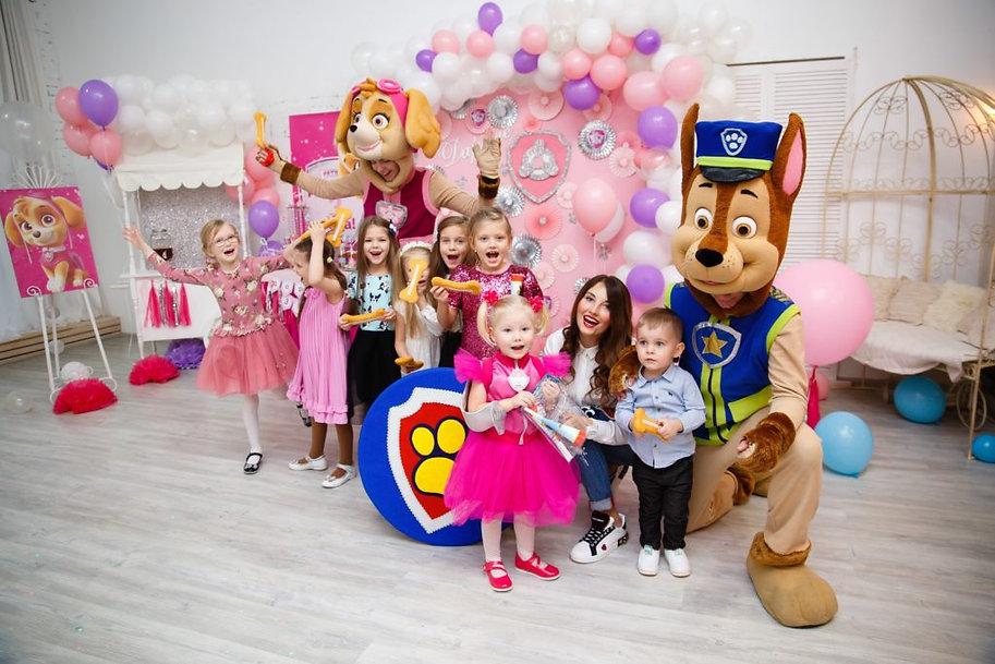 Щенячий Патруль. детский праздник москва