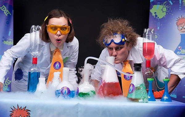 Химическое шоу Москва