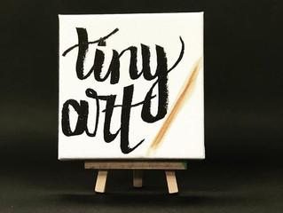 Why tiny art?