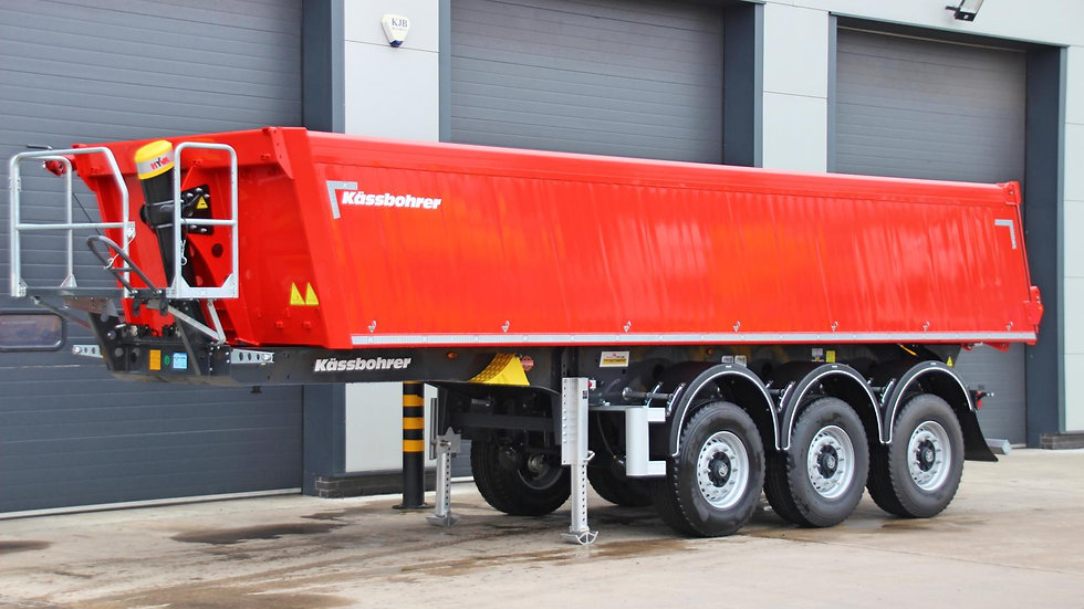 Kassbohrer Tri Axle Aluminium Tipper Trailer (New / Unused)