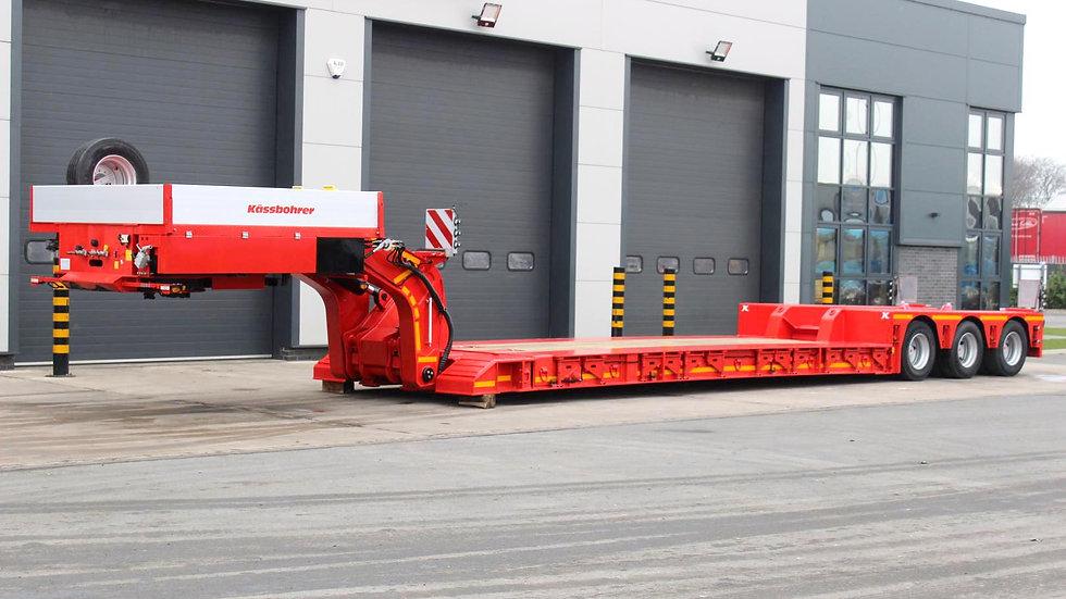 Kassbohrer Hydraulic Steering Heavy Duty 9ft Wide Extendable Low Loader 80800GVW