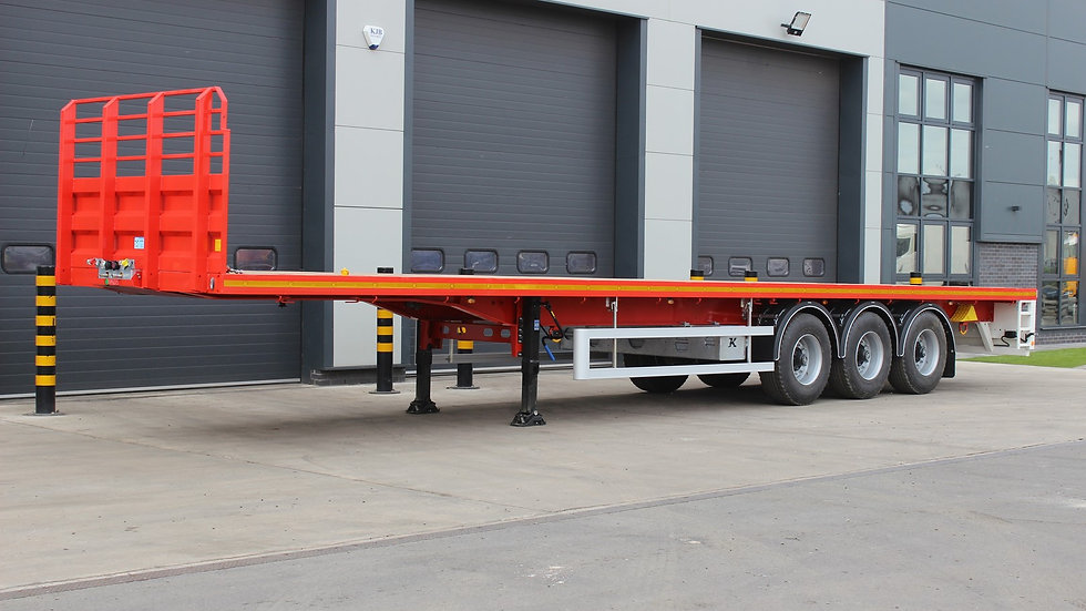 Kassbohrer PSK Tri Axle Flat Trailer (New / Unused)