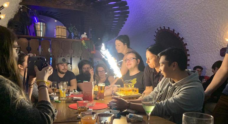 Geburtstag in der High Five Bar