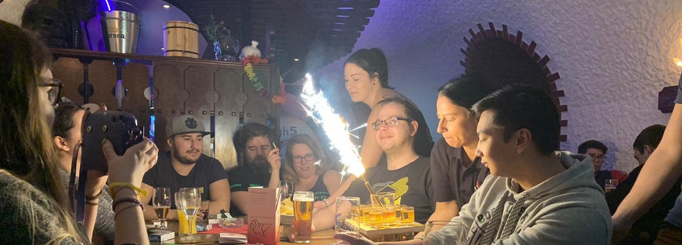 Geburtstag in der High Five Bar