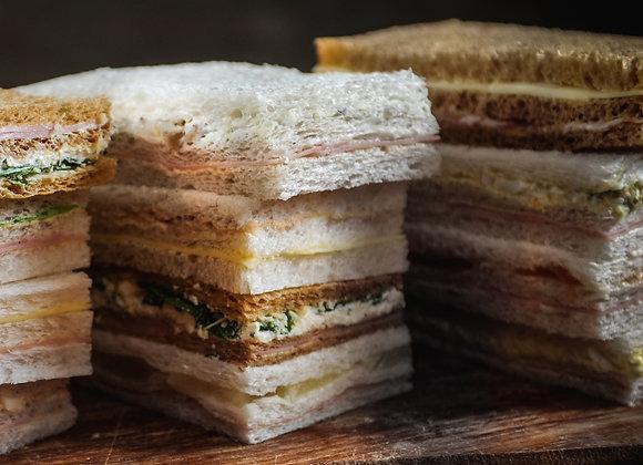 Sandwiches de Miga Vegetarianos