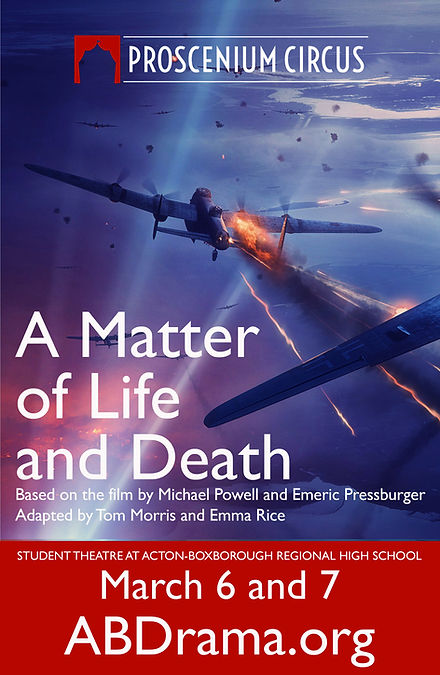 A Matter of Life and Death Large Poster.