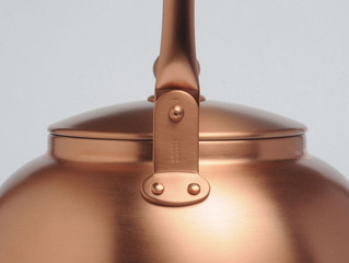 Simple functionality Copper kettle by Analogue Life
