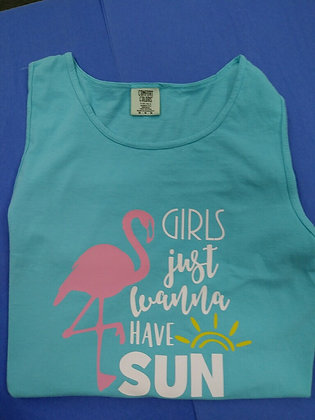Girls Just Wanna Have Sun Tank Top