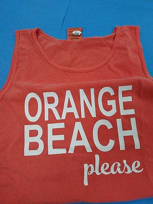 Orange Beach Please Tank Top