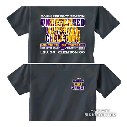 LSU Undefeated National Champions T-shirt