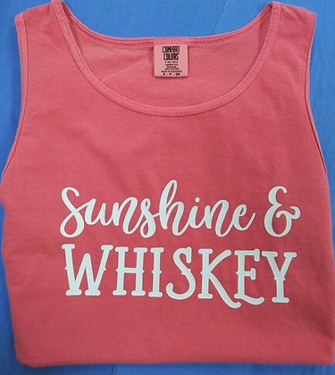 Sunshine & Whiskey Tank Top