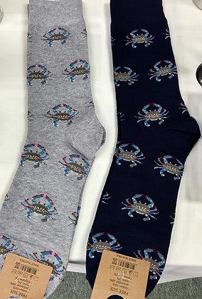 Men's Crab Socks