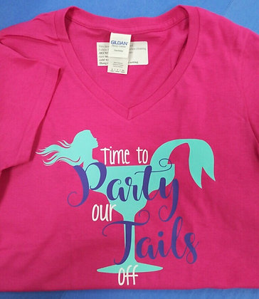 Time to Party Our Tails Off T-shirt